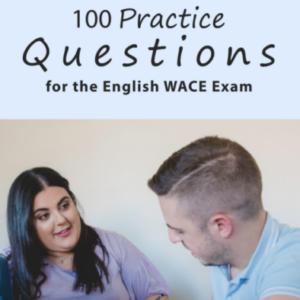 English WACE Exam Questions